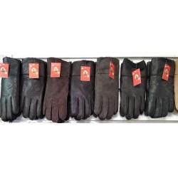 Перчатки мужские дубленка ANJELA