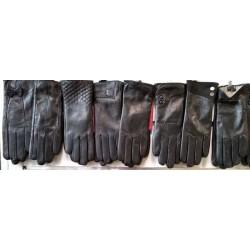Перчатки женские кожа шерсть ANJELA