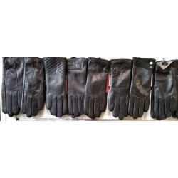 Перчатки женские кожа махра ANJELA