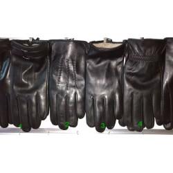 Перчатки мужские кожа лайка махра ANJELA