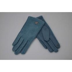 Перчатки женские вязка замша на флисе ONE 1.8-2