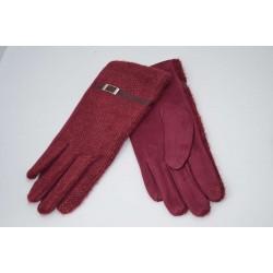 Перчатки женские вязка замша на флисе ONE 1.8-3