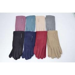 Перчатки женские пальто на меху ONE 1.8-2