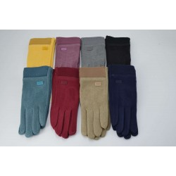 Перчатки женские пальто на плюше с манжетом ONE 1.7-3
