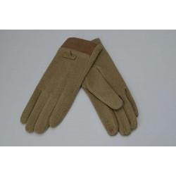 Перчатки женские пальто на плюше с манжетом ONE 1.7-5