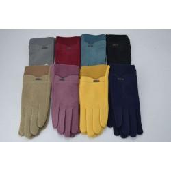 Перчатки женские пальто на плюше с манжетом ONE 1.7-6