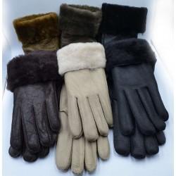 Перчатки женские дубленка ONE 3.5